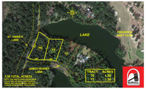 Frederica Community Lake Front Lots