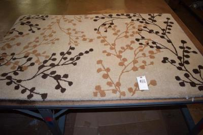 "Blossoms Beige 3' 6"" x 5' 6"" Area Rug"