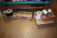 (3) Boxes Spools Of Zipper