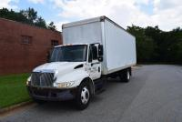 2001 International 4300 with 26' Box, Diesel Engine, 414151 Miles, Engine Replaced at 300,000 Miles
