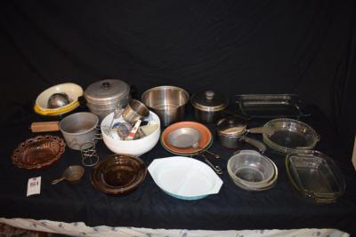 Pots and Pans - Glass Cookware, Bowls