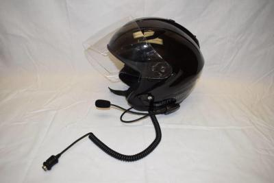 Harley Davidson Open Face Helmet with Communications Headset (XL)