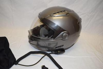 Hawk Modular Helmet with Communication Headset (XL)