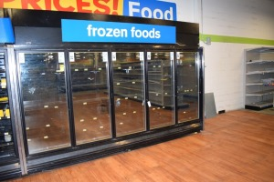 KYSOR WARREN FIVE DOOR FREEZER MODEL: QFGCEI-05AMUN,  SERIAL:1110001183