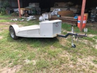 3 BIKE MOTORCYCLE TRAILER, VIN: T594374 (9' L X 8' W)
