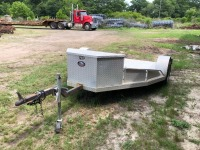 3 BIKE MOTORCYCLE TRAILER, VIN: T594374 (9' L X 8' W) - 2
