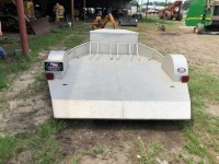 3 BIKE MOTORCYCLE TRAILER, VIN: T594374 (9' L X 8' W) - 3