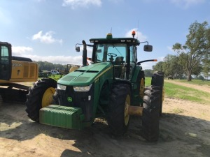 John Deere 8360R tractor with Front & Rear duals, 4,450 Hours,  Starfire 3000 GPS with 4640 display. Serial; 1RW8360PVDD070411 - REBUILT ENGINE & TRANSMISSION