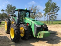 John Deere 8360R tractor with Front & Rear duals, 4,450 Hours,  Starfire 3000 GPS with 4640 display. Serial; 1RW8360PVDD070411 - REBUILT ENGINE & TRANSMISSION - 2
