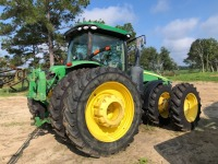 John Deere 8360R tractor with Front & Rear duals, 4,450 Hours,  Starfire 3000 GPS with 4640 display. Serial; 1RW8360PVDD070411 - REBUILT ENGINE & TRANSMISSION - 3