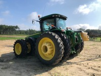 John Deere 8360R tractor with Front & Rear duals, 4,450 Hours,  Starfire 3000 GPS with 4640 display. Serial; 1RW8360PVDD070411 - REBUILT ENGINE & TRANSMISSION - 4