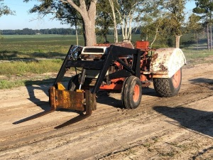 Case 1494 Tractor with Loader, Serial: 85558
