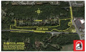 Absolute Auction | 24 Acres ± Development Tract | Great Location, 7456 Old National Highway Riverdale, GA 30296