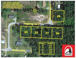ABSOLUTE AUCTION | LOT 32 | RESIDENTIAL LOT | PINELAND ESTATES SUBDIVISON, 105 Rainbow Dr Ocilla, GA 31774