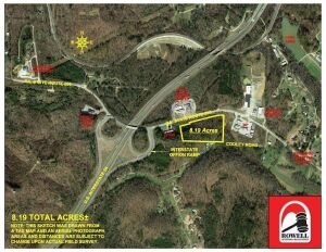 Project: Prime Interstate Commercial Development Tract - Out-Parcels of FlyingJ/Pilot