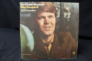 7 Vintage LP's Featuring  Artist: Glen Campbell