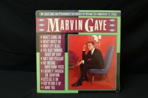 18 Vintage LP's Featuring Artist: Marvin Gaye