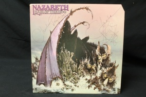 10 Vintage LP's Featuring Artist: Nazareth, Nektar, Steven Nicks, Nilson, Three Dog Nights, Ted Nugent