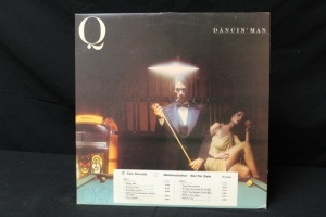 13 Vintage LP's Featuring Artist: Q, Suzi Quatro, Rolling Stones, Rubycon, Radha Krsna, Gerry Rafferty, Grand Funk Rail Road