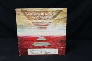 18 Vintage LP's Featuring Artist: Tangerine Dream, Ten Year After, Thin Lizzy, The Tams, Johnnie Taylor, James Taylor, Temptations