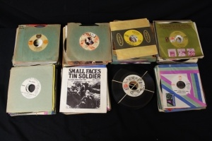 357 Vintage 45's Singles From 1972 & 1973