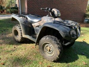 2011 Honda Foreman 500 4x4 | 1,576 Total Miles, 262.8 Total Hours