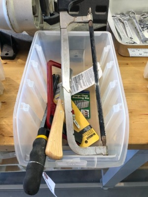 Box of Hack Saws