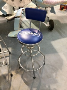 Kobalt Shop Stool