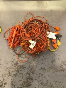 Extension Cords & Three-Way Splitters