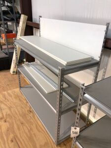 Metal Three Shelf