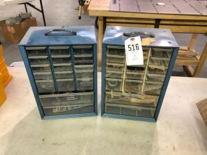 Two Bolt Bins with Misc.