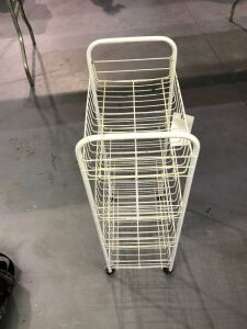 Four Shelf Rolling Cart