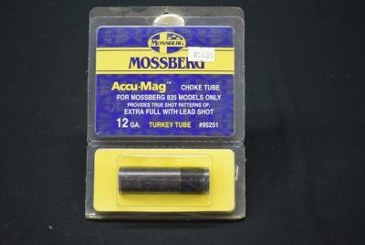 2) Mossberg Choke Tubes For Mossberg 835 Models Only 12 Gal