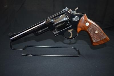 "Smith & Wesson Model 1950, 45 Caliber, 6 Shot Revolver with 6"" Barrel, Serial: 442183"