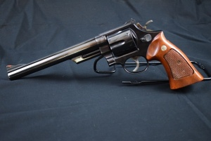 "Smith & Wesson Model 29-2, 44 Magnum, 6 Shot Revolver with 8"" Barrel, Serial: 442183"