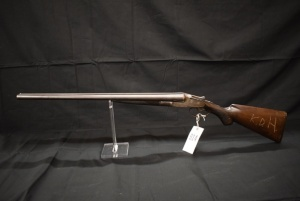 "LeFever Arms, 12 Gauge, Double Barrel 28"" Barrels, Serial: 29756G, Initials Carved into Stock"