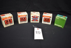 (5) Boxes of 28 Gauge MIXED Shot Reloaded Shells