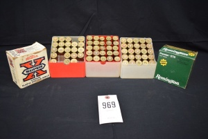 (5) Boxes of 12 Gauge MIXED Shot Reloaded Shells