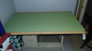 Metal Drafting Table  78 In X 39 In