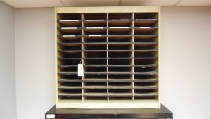Inner Office Mail Boxes 37 1/2 In X 12 3/4 In X 30 1/2