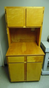 Wood Cabinet 24 In X 30 In X 69 In