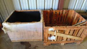 4 Wooden Crates
