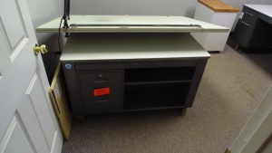 Metal Drafting Table  60 In X 40 In