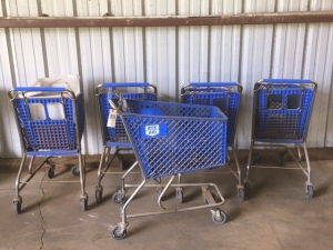(5) Shopping Carts