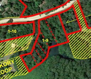 6 Lots with Lake Frontage on Riverside Acres Dr. & Hickory Loop, Lots 35, 36, 37, 38 39 & 40, Riverside Acres Subdivision