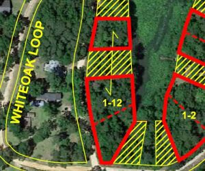 3 Lots with Lake Frontage on Riverside Acres Dr., Lots 12, 13 & 16, Riverside Acres Subdivision