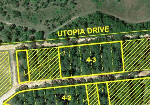 7 Lots with Frontage on Utopia Dr. & Paradise Dr., Lots 33, 37, 38, 39, 40, 41 & 42 John L. Drake Subdivision No.11 (Revised)