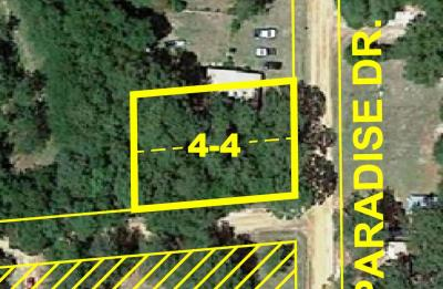 Lots with Frontage on Paradise Dr., Lots 62 & 63 John L. Drake Subdivision No.II (Revised)