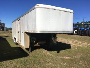 1999 Pace American Cargo Trailer with Roof Top Heat/Air and Onan 2.8 KW Generator