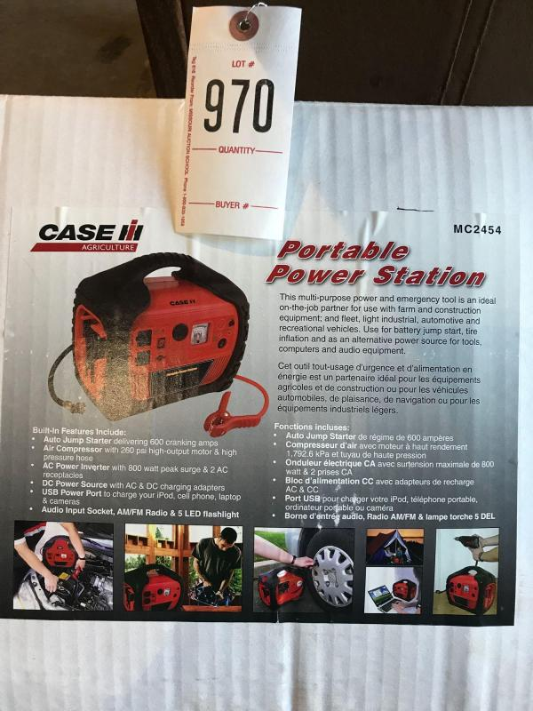 Case Portable Power Station
